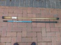 Shakespeare Pole Rod, telescopic 4 metre length, 4 sections