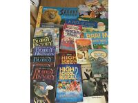 30+ books various ages