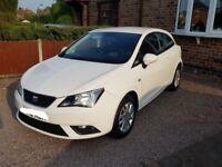 REDUCED 1.4 White Seat Ibiza SE- 12 plate. Brilliant condition!