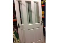 3x half glazed internal doors