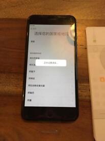 Iphone 7plus black 128gb unlocked