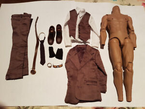 Hot Toys Bruce Lee extra Body with Casual clothes