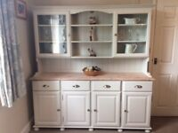 Beautiful Cotswold Collection F & B Painted Kitchen / Welsh Dresser Shabby Chic