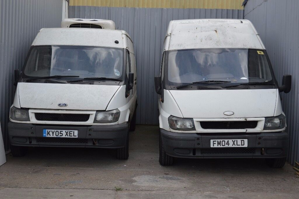 1af195d6e37ee6 X3 FORD TRANSIT VANS FOR SALE ALL 3 STARTS AND DRIVES SPARES OR REPAIR ONLY  £1000