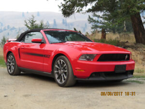 2012 Ford Mustang GT California Special Convertible