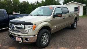 2013 Ford F-150 SuperCrew Pickup Truck eco boost