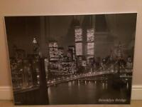 Large framed New York picture