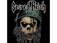Sacred Reich - 2 tickets - Limelight