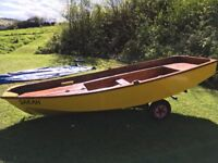 Mirror Dinghy, with all accessories (needs some repairs) OPEN TO SENSIBLE OFFERS