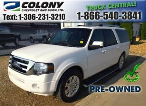 2014 Ford Expedition Max Limited, Leather, Sunroof, PST PAID