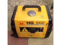 Generator, camping generator