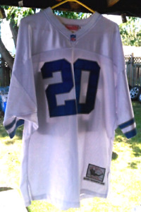 Barry Sanders Detroit Lions Throwback jersey 1996 size 52