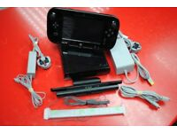 Nintendo Wii U Black 32GB £120