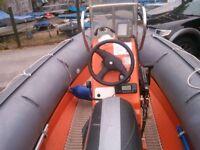 Rib boat,Avon searider 5.4m, price is negotiable