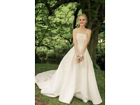 Alfred Angelo wedding dress. After dry cleaning.