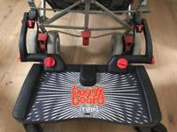 Buggy board Maxi complete with box, spare clips and fold up tie and clip
