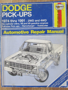 HAYNES DODGE PICK-UPS 74 – 91 (1992)