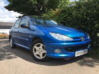 PEUGEOT 206 VERVE 1.4**IDEAL CAR FOR NEW DRIVERS**LOW INSURANCE GROUP**12 MONTHS MOT**