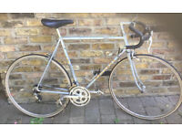 Vintage road racing bike PEUGEOT frame size 22inch - 12 speed, serviced WARRANTY
