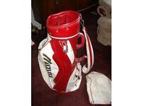 Mizuno Carry Golf Bag with Club Rain Cover