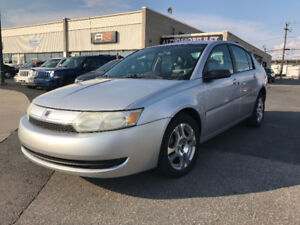 2004 SATURN ION ** 2350$ ** TPS INCLUS  AUTOMATIQUE-TOIT-MAGS-AC