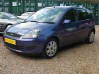 FORD FIESTA 1.25 STYLE CLIMATE 5DR, AIR CON, 81,000 MILES ONLY
