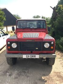 Land Rover 90 County Galv chassis 6.2 V8 Diesel manual