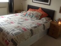 Kingsize Divan bed, headboard and Mattress