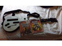 Guitar Hero World Tour & Legends of Rock & Wii Guitar
