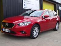 2014 (14) Mazda 6 2.2d 150 SKYACTIV-D Nav Tourer SE-L Diesel £20 road tax