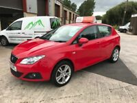 2010 Seat Ibiza 1.4 Sport 5 Door **FINANCE AND WARRANTY** (polo,fiesta,clio,corsa)