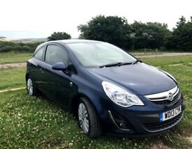 Vauxhall Corsa Energy AC 2013, 46,000 miles, excellent condition, one owner from new