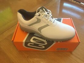 New Footjoy Contour Series white golf shoes size uk 10.5