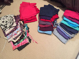 Women's scrub tops and bottoms