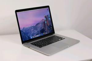 """15"""" Macbook Pro - i7 CPU, 16GB RAM, Retina"""