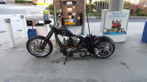 Custom Harley Chopper - Expendables version