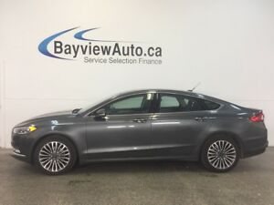 2017 Ford FUSION SE- AWD! REM START! ROOF! LEATHER! NAV! SYNC!