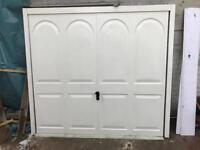 Cardale Edwardian garage door and electric motor