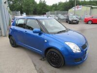 Suzuki Swift GL (blue) 2009