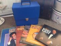 Old records and lockable case