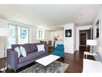 Modern 2bedroom 2bath property in Lincoln plaza Canary Wharf South Quay next to Pan Peninsula E14 JS