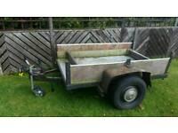 Heavy duty car trailer