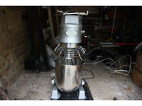 Commercial Food Stand Mixer 10l 2 speed - Includes Beater, Dough Hook & Whisk