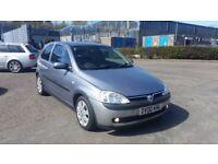 2003 (03 Reg) Vauxhall Corsa 1.0 i 12v Active 3dr,for £495, 12 Months Mot on Sale