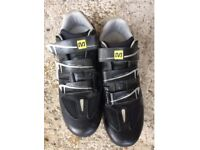 Mavic cycling shoes size 10