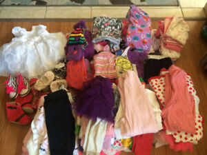 Girls 0-9 month clothing lot
