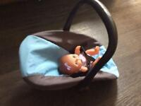 Dolls baby carrier