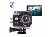 *BRAND NEW* 4K Action Camera WiFi Waterproof +Accessories