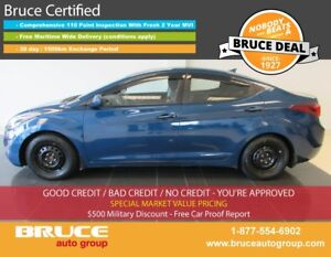 2016 Hyundai Elantra GLS 2.0L 4 CYL 6 SPD MANUAL FWD 4D SEDAN HE