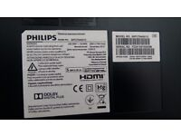 Phillips 50 inch faulty for spares (No Returns)